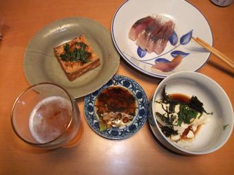 15日の夕飯