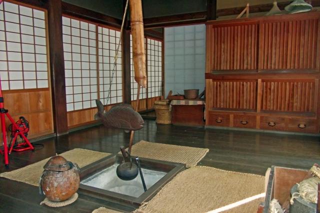 日本古民家園で昔のおうち巡り