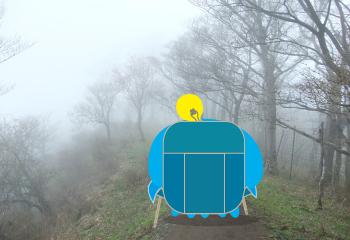 塔ノ岳でクリームパスタ【表丹沢縦走・その1】