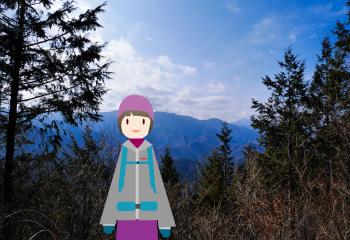 秀麗富嶽12景の倉岳山から九鬼山を縦走する【倉岳山〜高畑山】