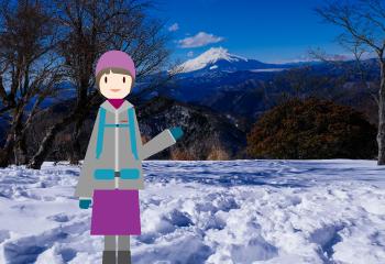 松田町の寄から鍋割山に登る
