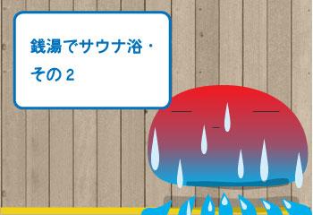 銭湯でサウナ浴【日栄浴場】