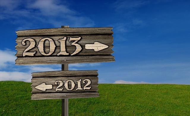 2013年のごあいさつ