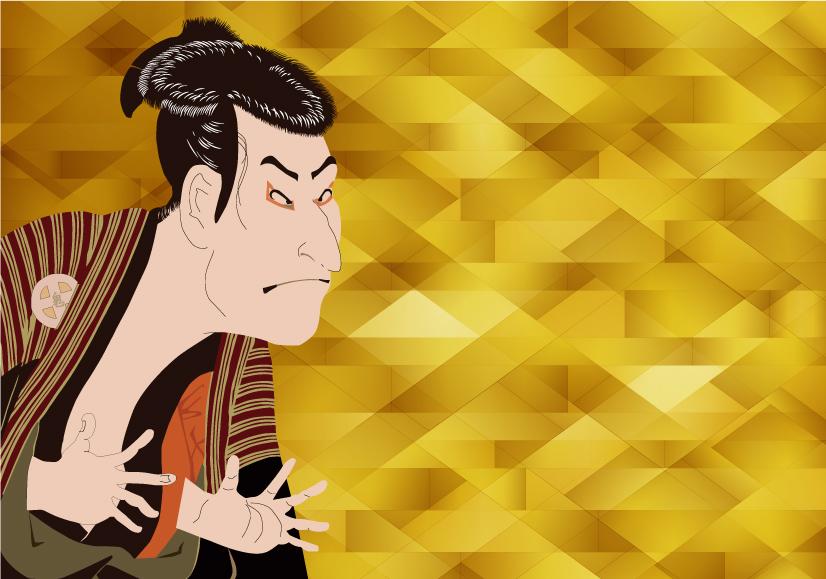 歌舞伎の舞台美術家による講演を聴く